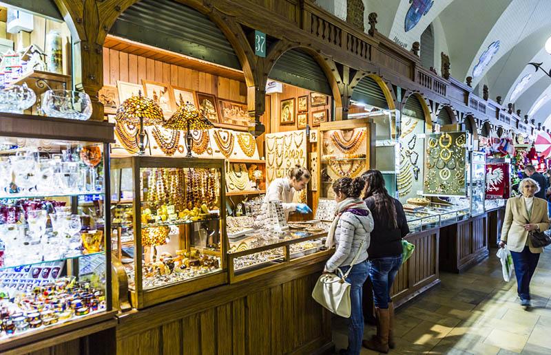 shopping en Cracovia