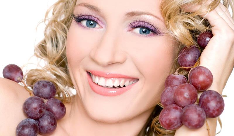 mascarilla de uvas