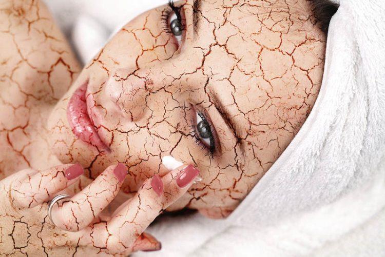 cómo reparar la piel