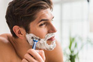 afeitado masculino